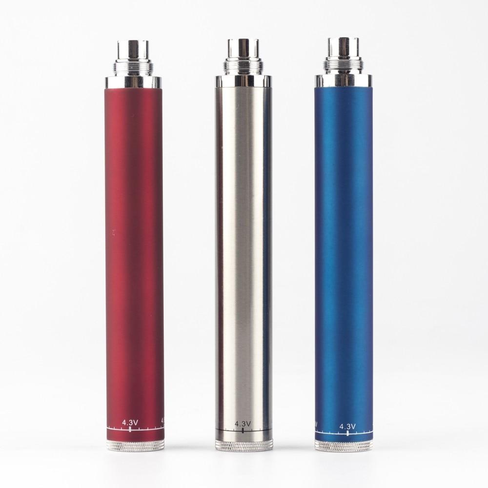 JOMOTECHHigh Quality Evod Twist Battery Electronic Cigarette Variable Voltage Ego-V Battery 3.2-4.8V E Cigarette Battery Jomo-52