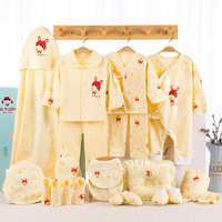 21pcs/lot Baby girl winter clothes Cartoon Clothes+pant for Kids 0 6M Newborn Clothing Gift baby outfits Tracksuits
