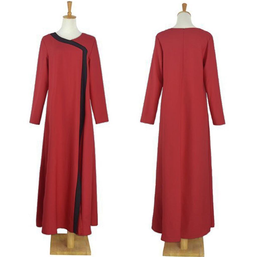 islamic clothing muslim dresses 2019 Dubai Women Open Kaftan Abaya Muslim Cardigan Jilbab Maxi Dress