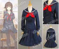 Uniforme Escolar uniforme tasogare Otome x Amnesia Yuuko Kanoe Cosplay Todo el Tamaño XS-XXXL