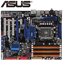 Asus P6T Desktop Motherboard X58 Socket LGA 1366 Core i7 Extreme DDR3 24G ATX UEFI BIOS Original Used Mainboard On Sale