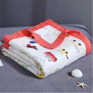 Image 4 - 29 Phong Cách 110*120Cm 4 Và 6 Lớp Sợi Tre Cho Bé Chăn Đầm Muslin Tre Cotton Trẻ Em bé Nhận Chăn