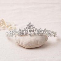 2017 Elegant Crystal Wedding Tiaras Headbands Handmade Wedding Hair Accessories Bridal Headpiece Made In China