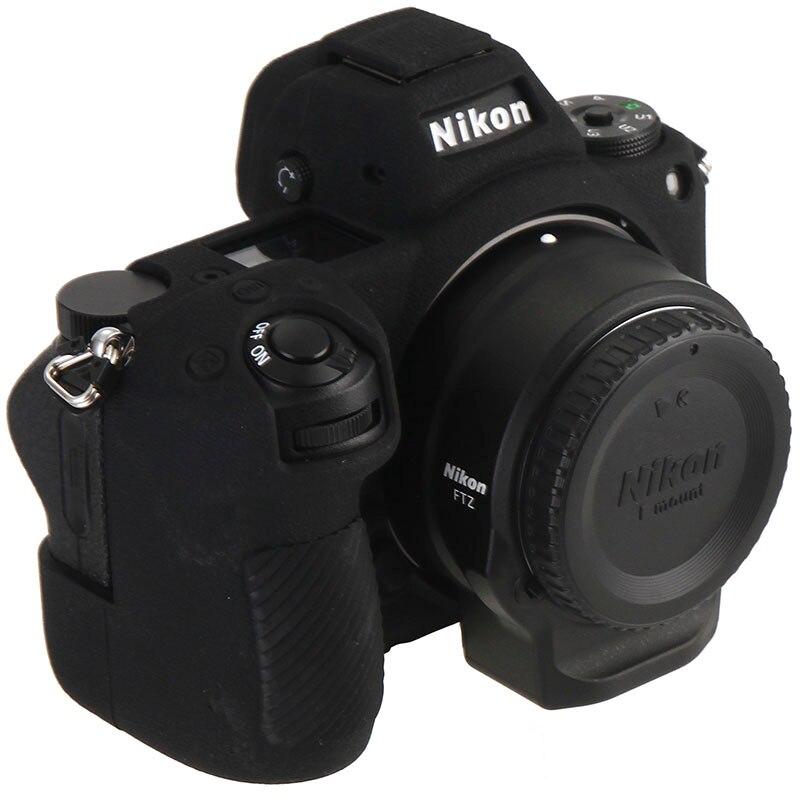 Silicona suave goma piel cubierta de cuerpo de cámara caso bolsa para Nikon D3500 Cámara Nueva