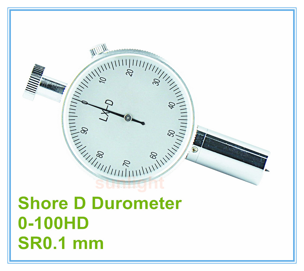 Industrial Grade Analog Shore D Rubber Durometer 0 100HD
