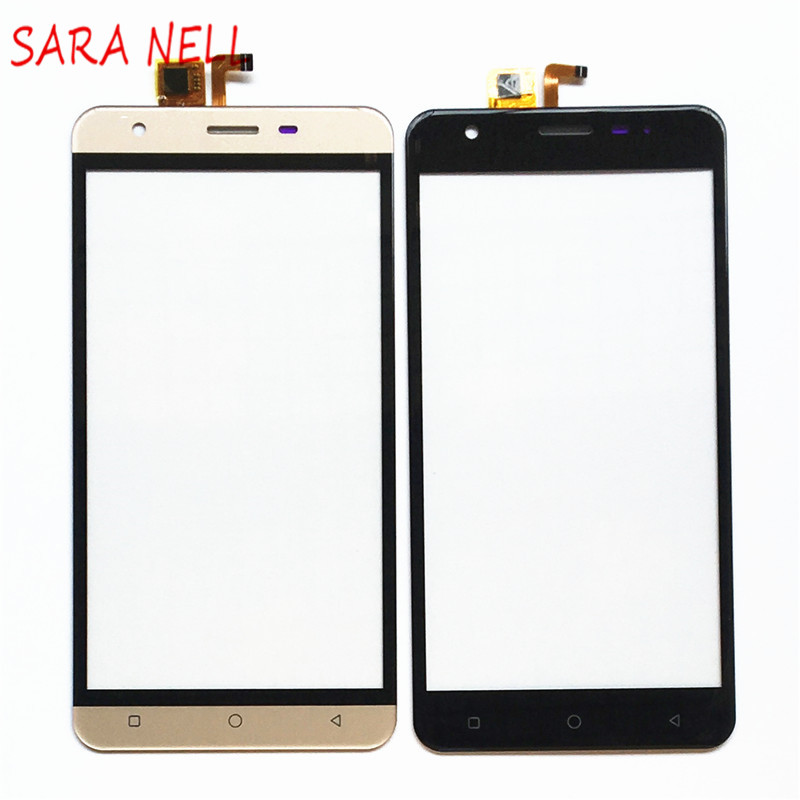 SARA NELL Mobile Phone Touch Screen Panel Sensor For Vertex Impress Eagle Touchscreen Front Glass Digitizer TouchPad+Tape