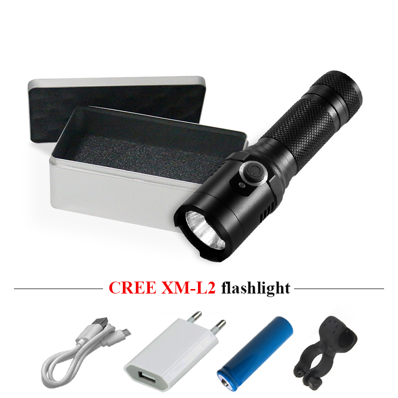 Original Camping Work Lamp Strong Magnet Usb Led Flashlight Lampe Torche Cree Xm L2 Torch Flashlight 18650 Waterproof Lantern Led Zaklamp Fashionable And Attractive Packages Lights & Lighting Led Flashlights