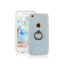 New Soft Ring Case Stand Holder for Iphone X 8 7 6 6S Plus Luxury Finger Bling TPU Cover Fashion Original Silicone Slim