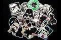 25 tipos de Star Wars tampa de combustível waterpoof adesivo criativo para Brinquedo casa Estilo Telefone Bagagem Frigorífico Skate Laptop Adesivo