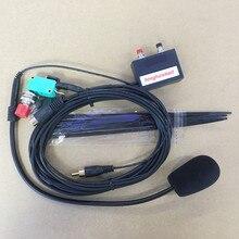 Honghuismart haut parleur de microphone à main libre 8 broches pour IC 2200H, IC 2720, IC 2820, IC V8000 etc.