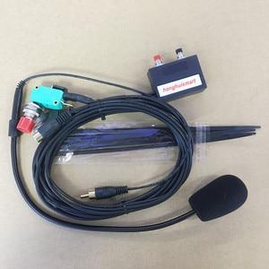 Image 1 - honghuismart Hand free microphone speaker 8pins for IC 2200H,IC 2720,IC 2820 ,IC V8000 etc car vehicle radio ham
