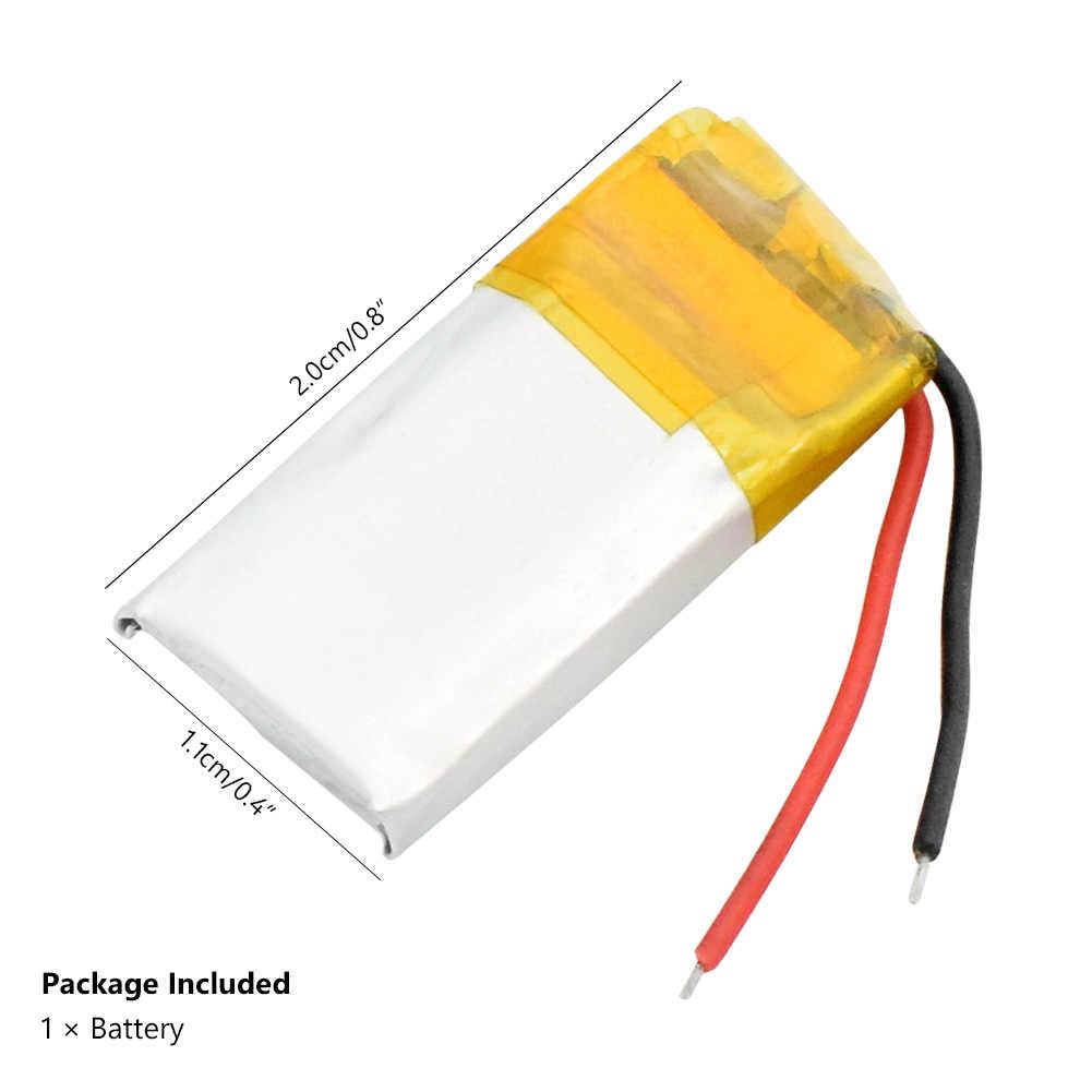 1/2/4個3.7v充電式リチウム電池401120 401120 70用MP3 MP4 bluetoothスピーカーヘッドセットselfieスティック