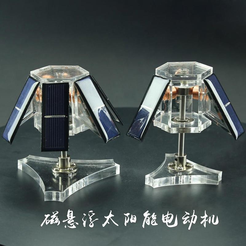 DIY Levitação Magnética Do Motor Solar, criativo Decoração de Suspensão Magnética, Presentes científica