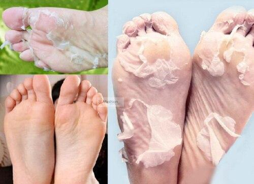 1pair font b Baby b font Foot Mask Exfoliation for Feet peel no salicylic acid Pedicure