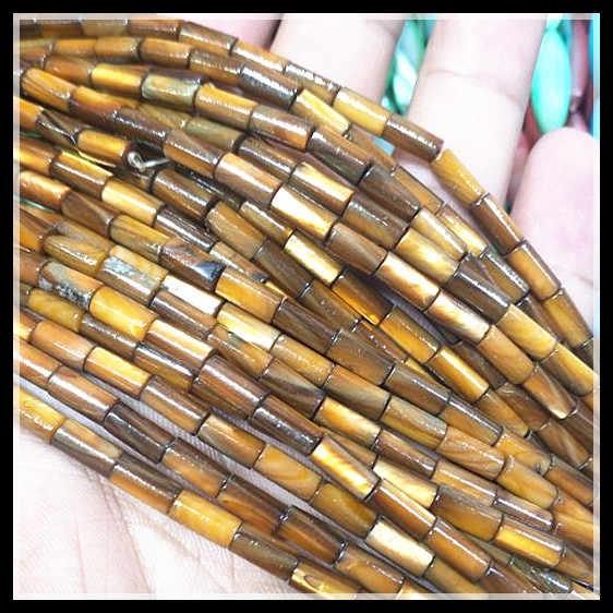 100 piezas de la naturaleza cuentas de concha madre de cadenas de perlas tamaño 4x8mm de largo tambor formas 2 cuerdas envío gratis para pulseras de cuentas diy