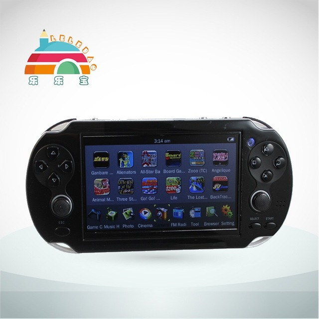 Quality 32BIT 4.3'' PXP Video Game Console with Camera, TV Output, 1000+ Games and MP5 Media Canter