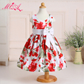 children summer dress european and american style  Bohemian 2 to 11 year old girls dress beach girl party dress 2016 NQ134