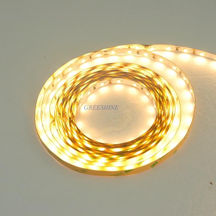 1200LM / M 60LED / m 5M 2835 LED csík rugalmas, fehér, fehér 12W - LED Világítás