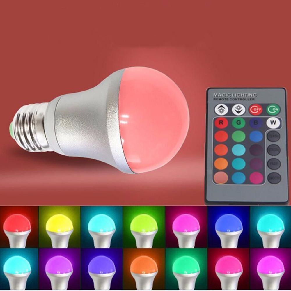 Novelty Light Bulb Indoor LIghting Multi colors 5W B22 AC 85 265V ...
