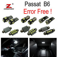 13pc X Canbus Volkswagen Passat B6 Led Interior Lighting Kit Package 2006 2010