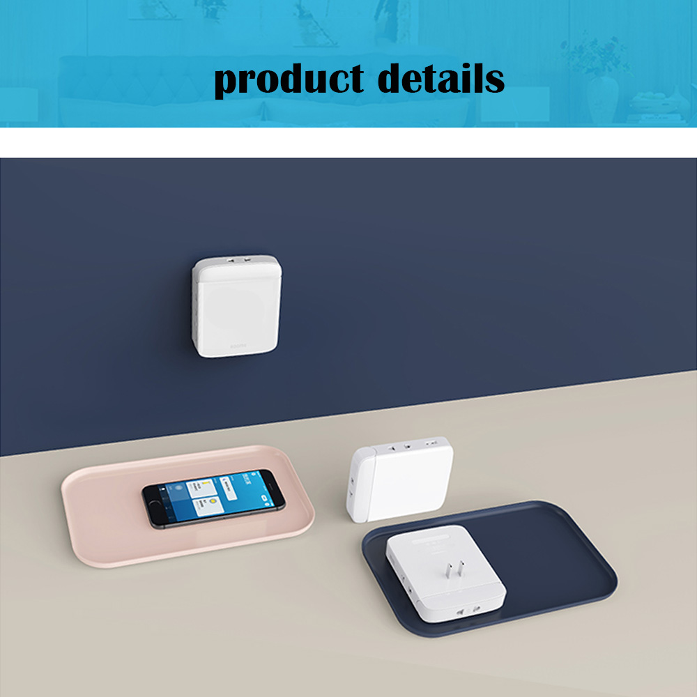 Image 5 - wall socket wifi Multi function smart home socket wifi home wiring board USB smart desktop socket climbing wall multi plug strip-in Smart Remote Control from Consumer Electronics
