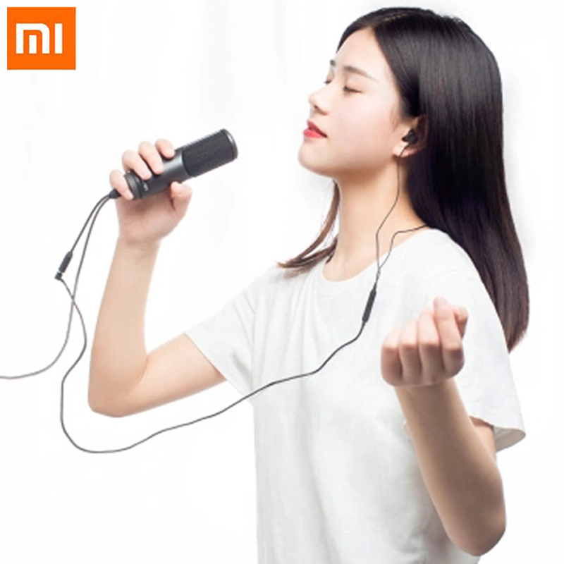 Original Xiaomi Mijia JUNLIN digital microphone HD noise reduction professional HIFI microphone compatible for bar KTV family(China)