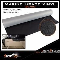 Black Auto Marine Headliner Floor Trunk Decorate Upholstery Fabric Vinyl 130cm X 139cm Can Be