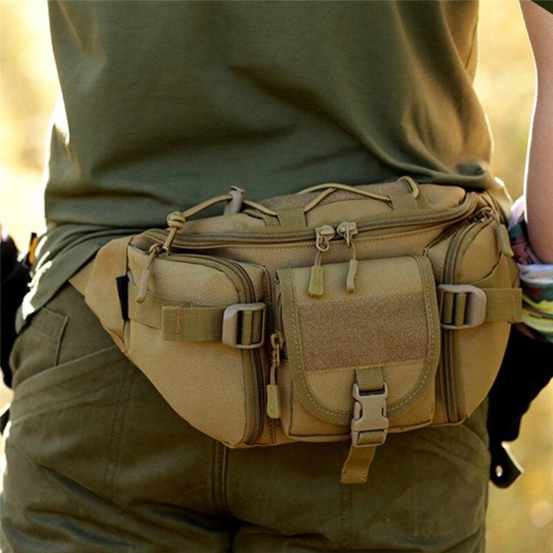 * Correr Deporte Bolsa Bolso Paquete de la Cintura Molle Táctico Militar de Excu