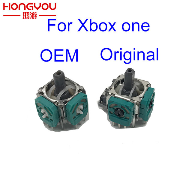 10Pcs 3D Joystick for Xbox One Caps Thumbstick Sensor Replacement Analog Module Axis for XBox One Controller Case