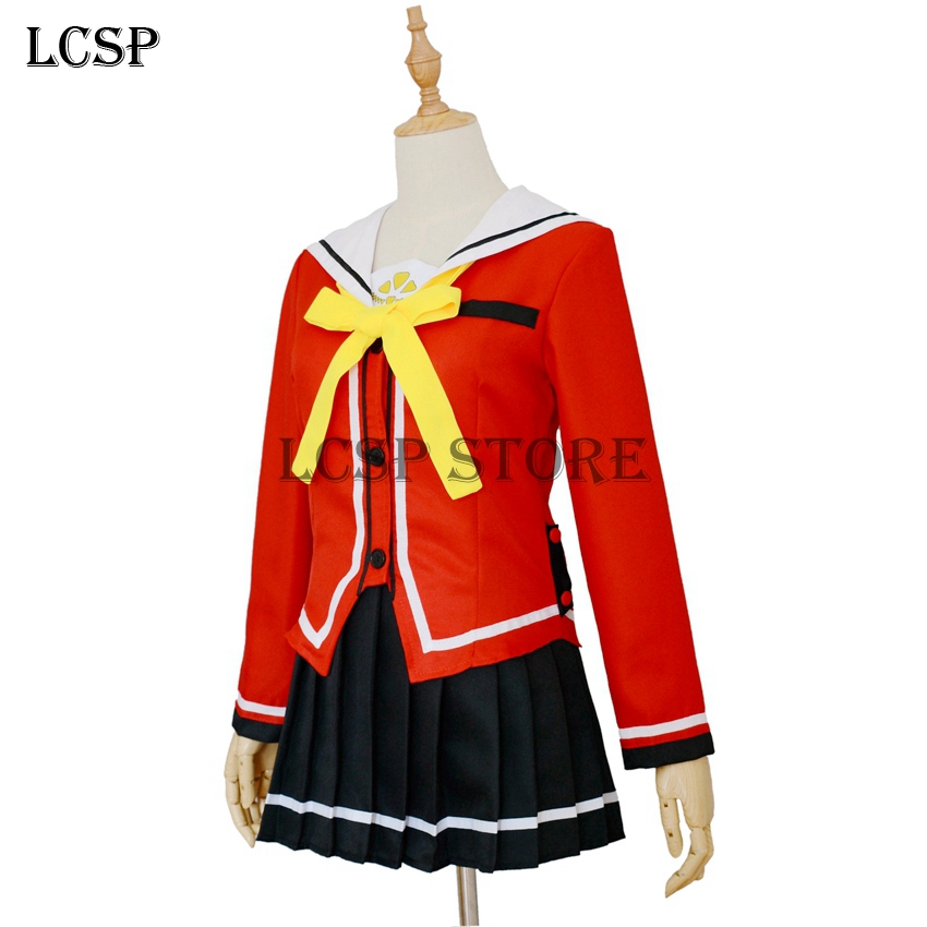Costumes & Accessories 100% Quality Charlotte Tomori Nao Sailor Suit School Uniform Dress Outfit Cosplay Costumes Anime Costumes