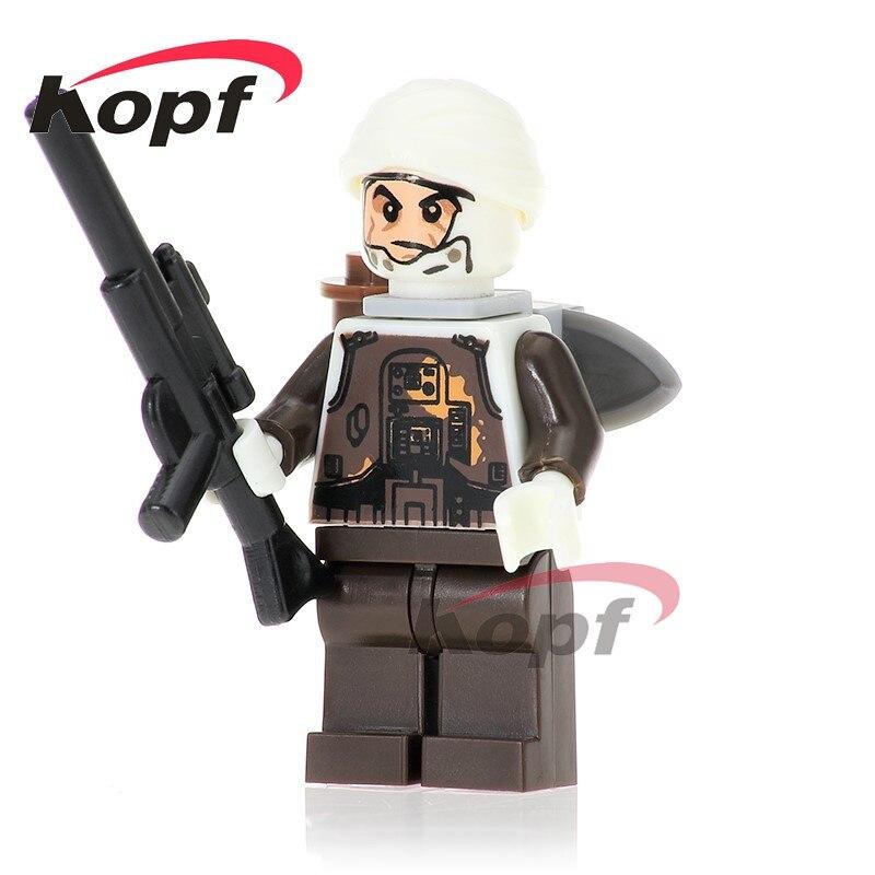 Single Sale Dengar Bounty Hunter 75145 Bo-Katan Luke Skywalker Wars Building Blocks Collection Toys For Children Gift PG749