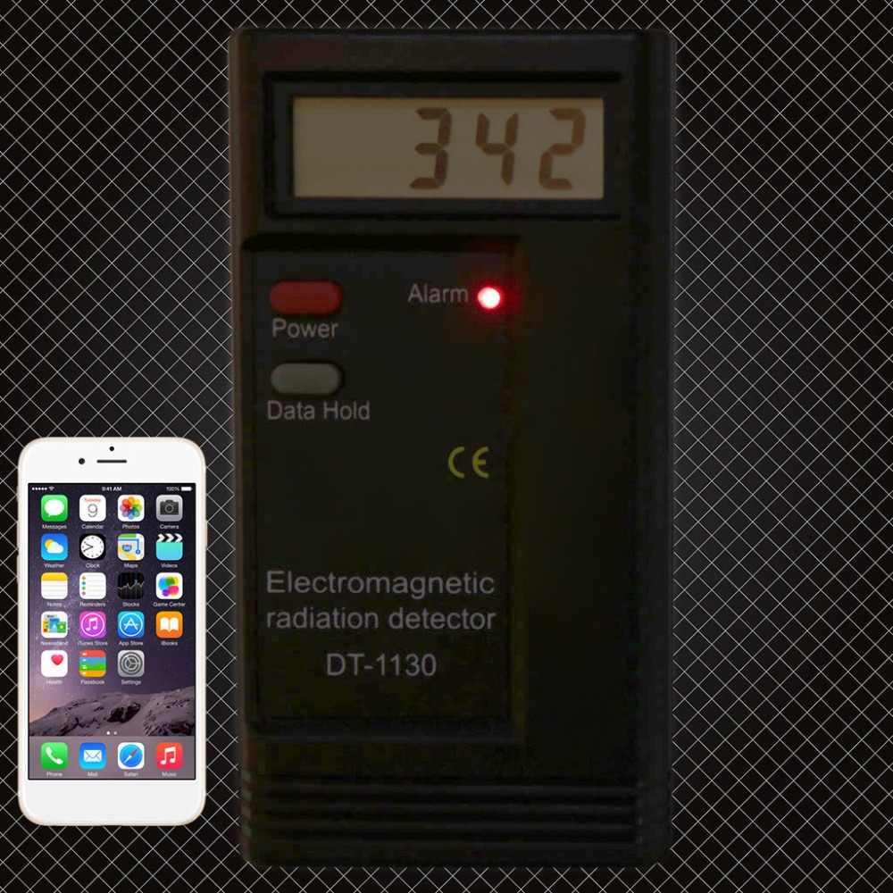 Aneng Elektromagnetische Straling Detector Lcd Digitale Emf Meter Dosimeter Tester DT1130
