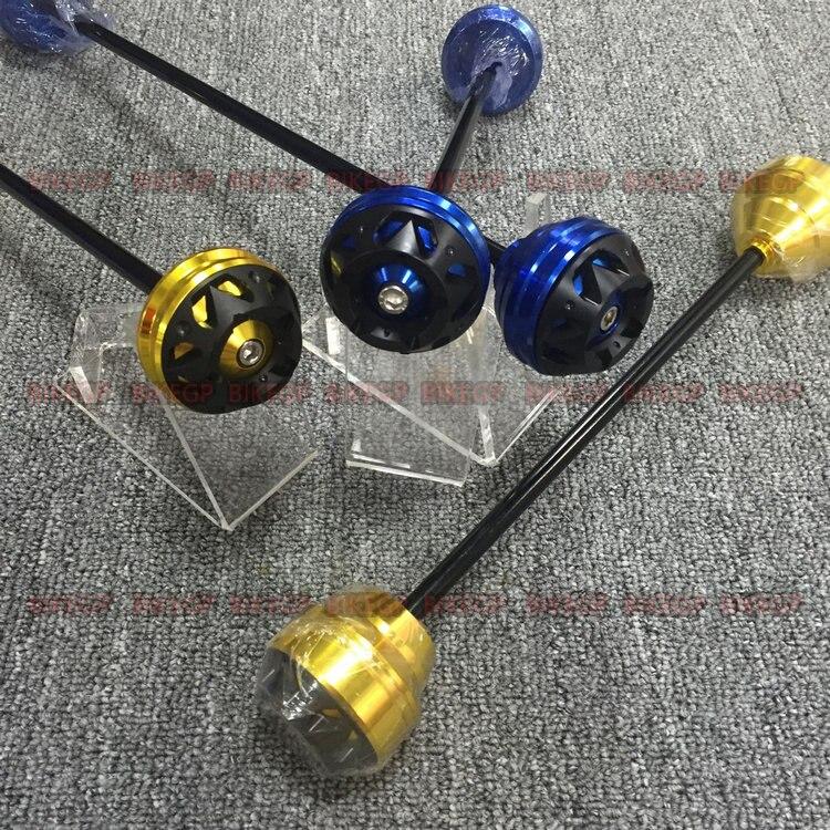 подходит для YAMAHA MT03 Р3 14-16 ЧПУ измененными передними и задними колесами падение сопротивления резиновые противоаварийной защиты шаровой бары / пар 2
