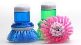 Pressure fluid to facilitate creative household cleaning brush wholesale merchandise ranging automatic dosing