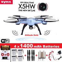 SYMA X5HW RC Drone With Camera Wifi FPV HD Real Time 2 4G CH RC Helicopter