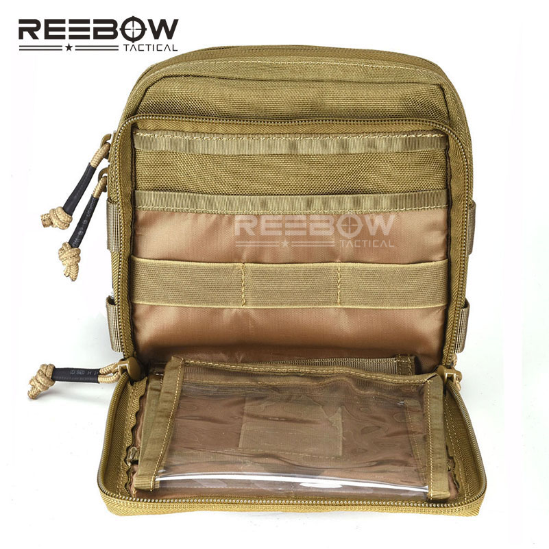 REEBOW TACTICAL 1000D CORDURA EDC Pouch Outdoor Military Daily Waist Organizer Bag MOLLE Utility Map Pack Cycling Hunting