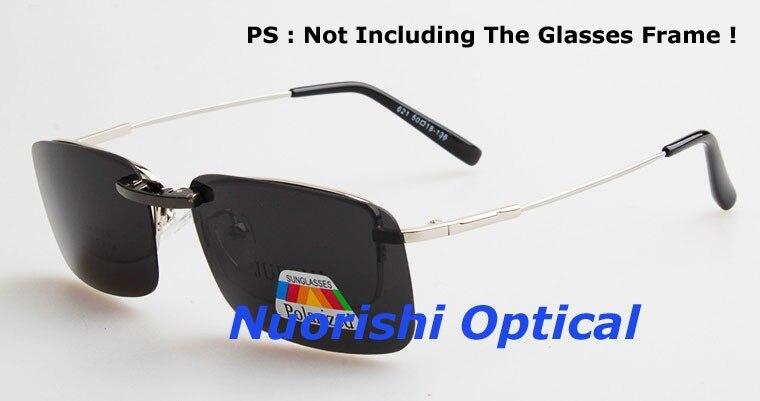 20 штук алюминиево-магниевого сплава, поляризованные очки Линзы для очков 7 цветов UV400 объектив клипсы для малых и средних Размеры зажимы CP07
