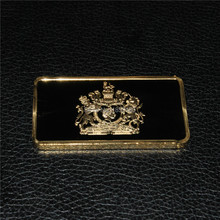 sample order,19531oz Britain,Queen Elizabeth II Diamond Jubilee Gold Plated bar, 1pcs/lot free shipping