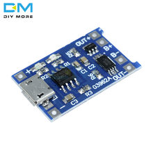 1PCS Micro USB 5V 1A 18650 TP4056 Lithium Battery Charger Module Charging Board With Protection Dual Functions BMS(China)