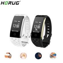 HORUG สายรัดข้อมือสมาร์ทกันน้ำฟิตเนส Tracker Smartband Activity Tracker Run Setep เดินสร้อยข้อมือ Heart Rate Monitor