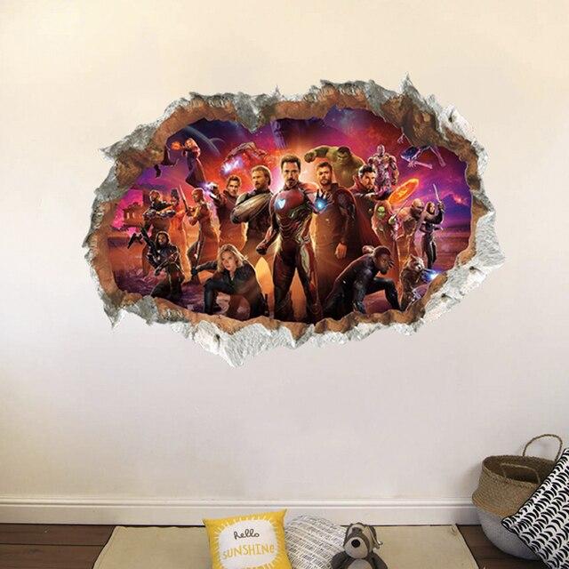 3D Avengers 50*70cm 2