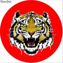 MOONCRESIN 3D Diamond Mosaic The Hungry Tiger Pattern Sticker Full Square Embroidery Flower Diy Painting Stitchs