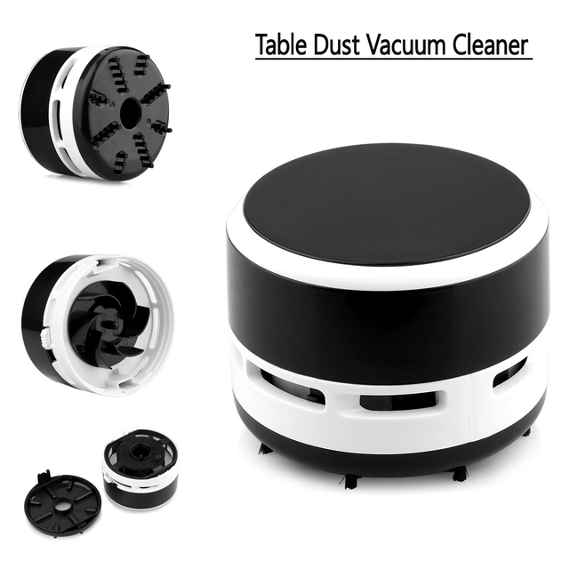 Mini Desk Table Dust Keyboard Vacuum Cleaner Sweeper Cleaning Tools