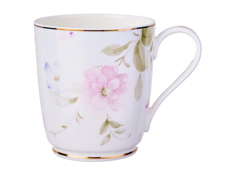 Mug Lefard, 300 ml, pale pink flowers