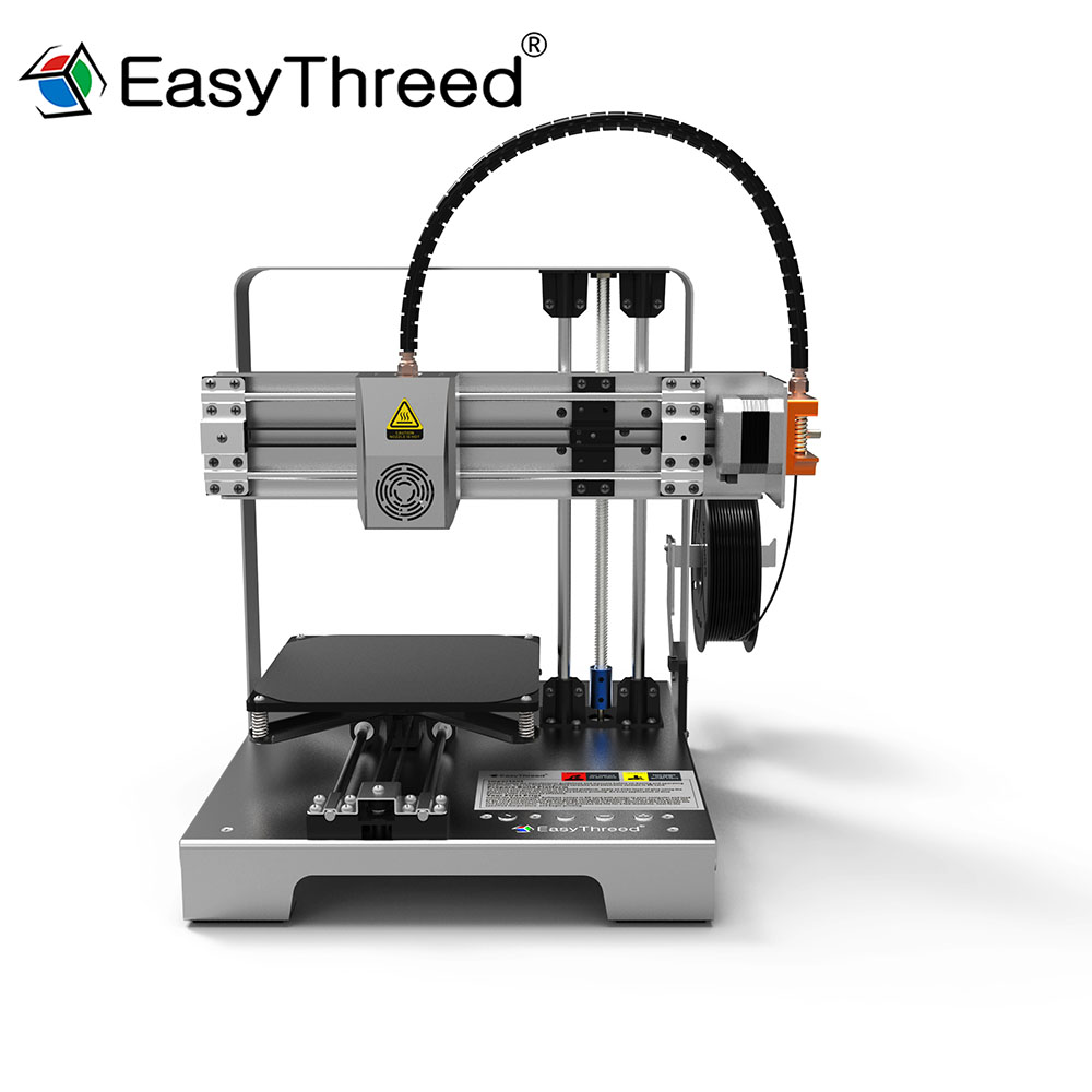 Entry-Level 3D Printer MERCURY Full Metal Frame Board Bed Parts Kit High Precision Nozzle Extruder No Assembly