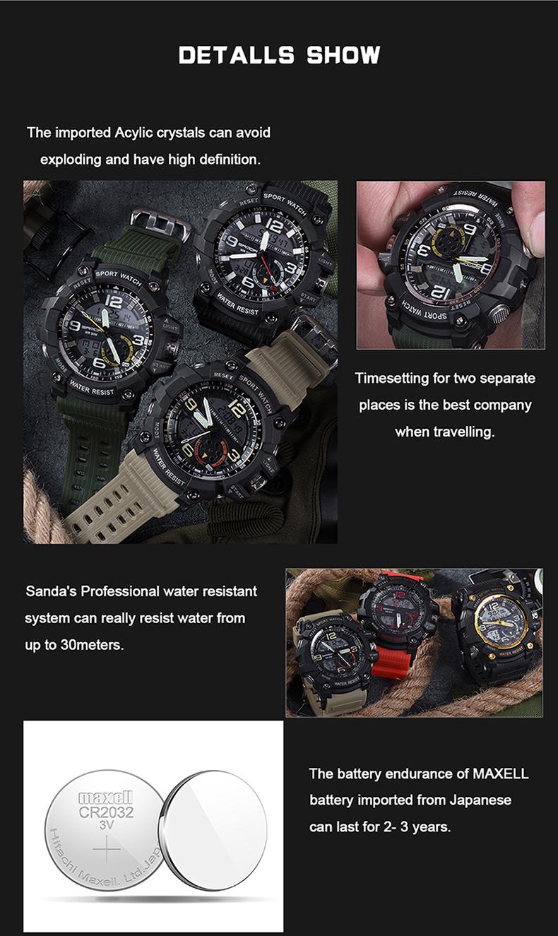 HTB1voBxQVXXXXbuXXXXq6xXFXXX1 - 2017 SANDA Dual Display Watch Men G Style Waterproof LED Sports Military Watches Shock Men's Analog Quartz Digital Wristwatches