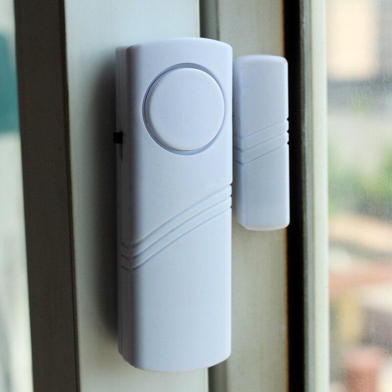 1PC Magnetic Door and Window Alarm Sensor Wireless Sensor Detector for Home Window Door Alarm Anti-theft Security Alarm Clock