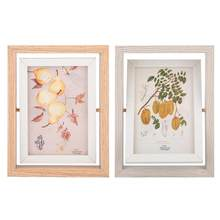 20*15cm Rotating Photo Frame Set Up Double-Sided Turnover Photo Frame, Nordic Picture Frame(China)