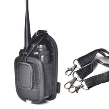 PT-02 Nylon carry case bag portable holder for WouXun ,Baofeng,Hytera,Puxing walkie talkie two way radio