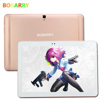 S106 bobarry tablet 10.1 pulgadas octa core 2.0 ghz android 6.0 4g lte 32g tablet android tablet inteligente pc, Kid Regalo super computadora